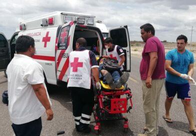Grave motociclista arrollado por la Internacional